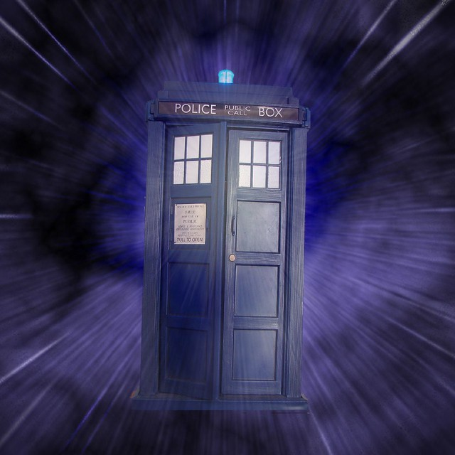 We Have A Cool Tardis Money Box Sitting On The