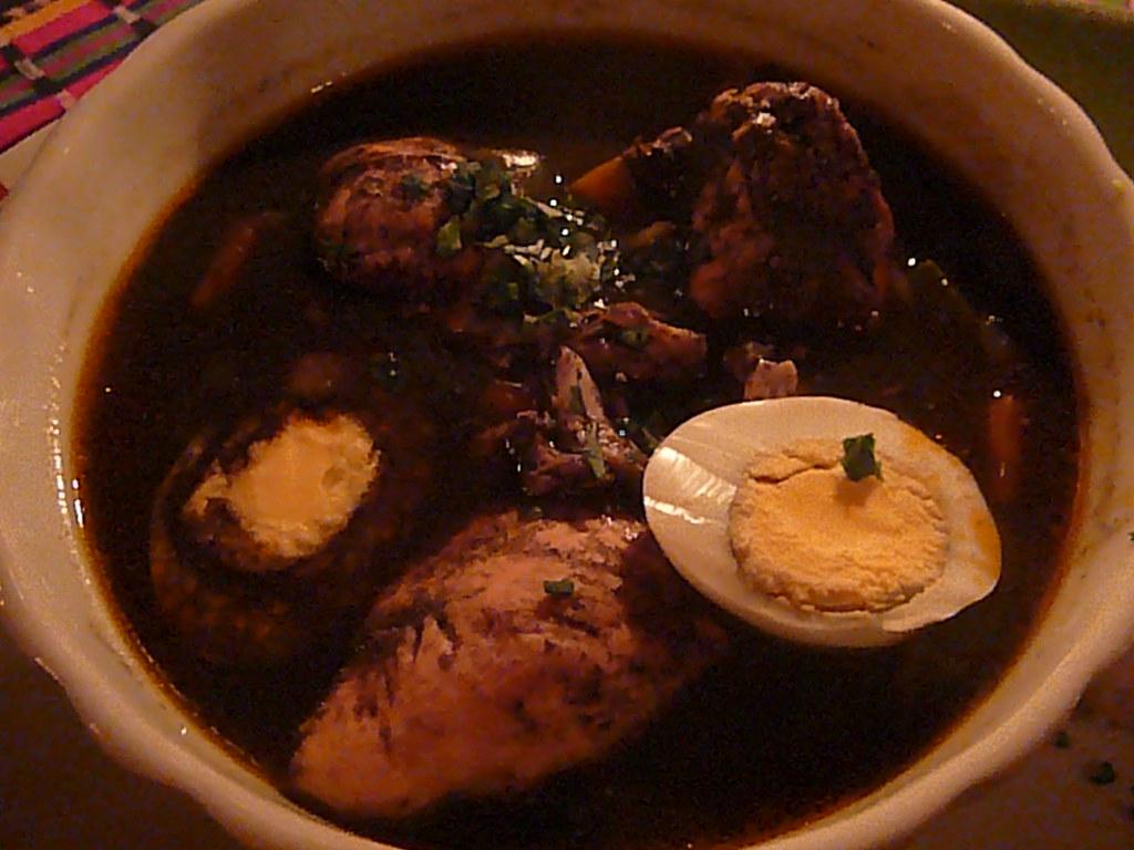 Chirmole (black dinner), a local dish | Lisa and Jessie's wedding ...