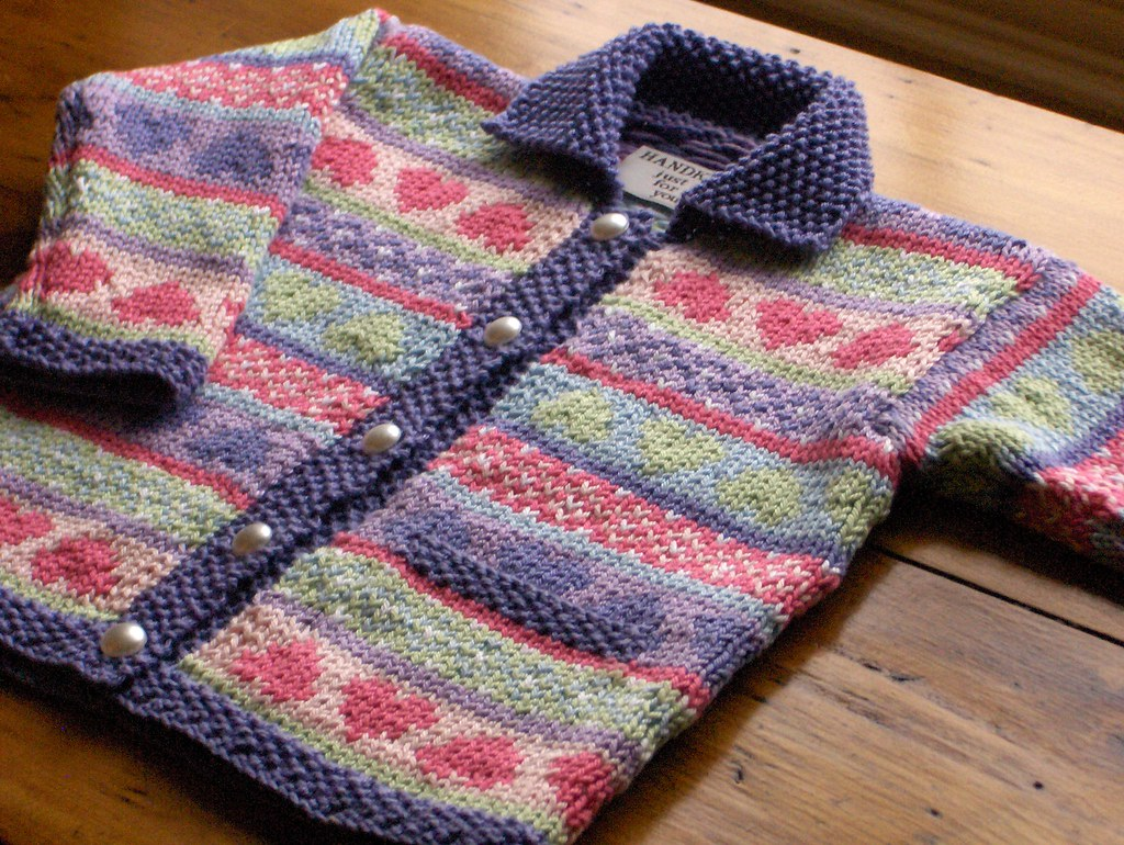 Second Fair Isle Cardigan For Baby I liked this pattern so? Flickr