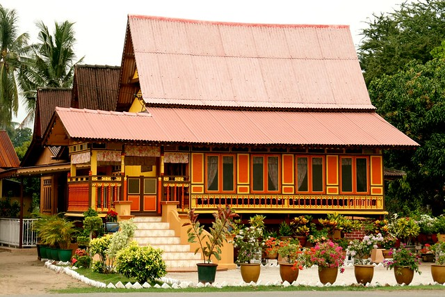 Traditional Malay House One Of The Very Fiew Left And
