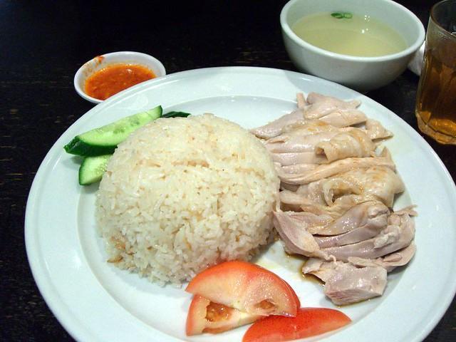Hainanese Chicken Rice - Singapore Chom Chom | Hainanese Chi ...