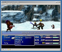 Final Fantasy 7 under Windows Millenium on Virtual PC | by reivx
