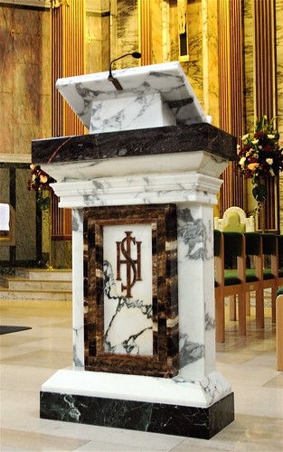 Ambo or Lecturn in St. Mirrin's Cathedral | Every Catholic ...