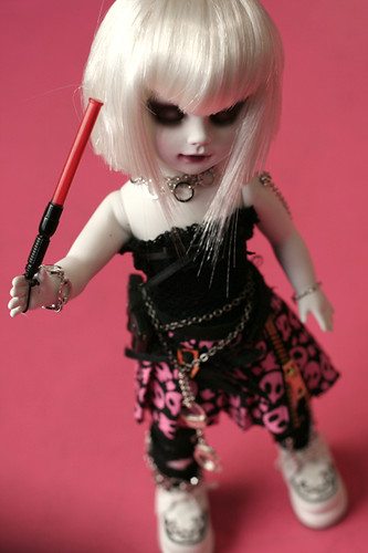 Living Dead Doll Custom Punk Mad Tittle Punk Mad