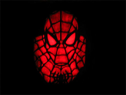 Spiderman Pumpkin Eryn Flickr