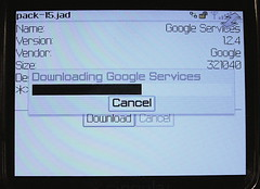 Downloading Google Services | by factoryjoe