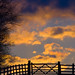 Sunset Gate Silouette