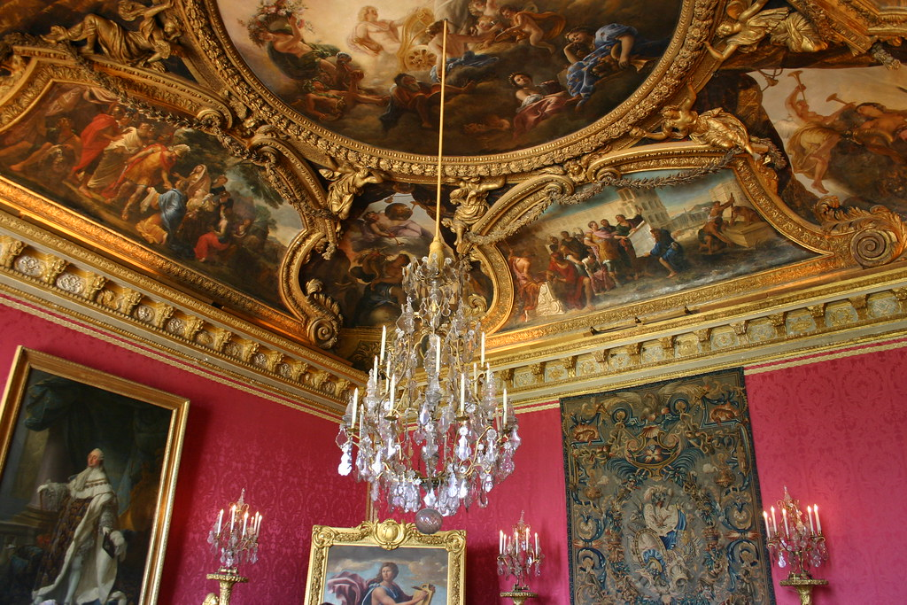 Corner of le salon d 39 apollon ch teau de versailles flickr for Salon de versailles