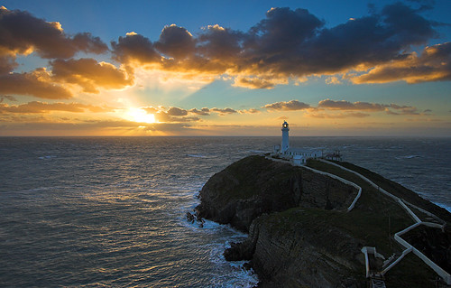South Stack Lighthouse Sunset | by Stu Worrall Photography