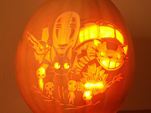 Miyazaki Spirited Away Pumpkin | by Wicked Witch of the East