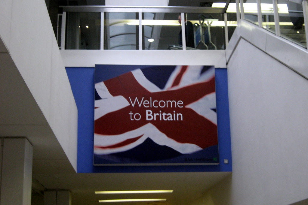 UK - London: Heathrow Airport - Welcome to Britain | Flickr