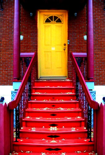 yellow door | by Whiny Dancer