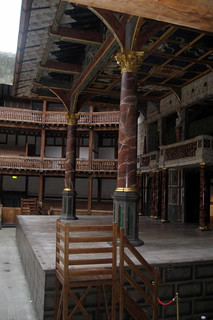UK - London - Bankside - Shakespeare's Globe - Theatre's stage | by wallyg