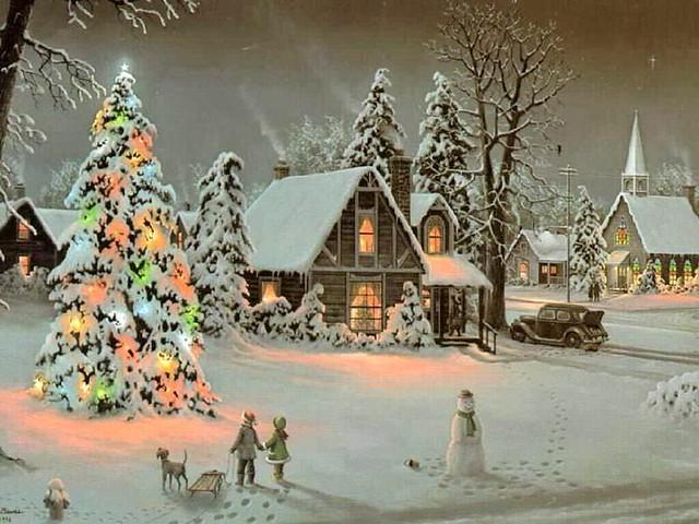 O Christmas Tree Jesse Barnes A Beautifil Painting I Rea Flickr