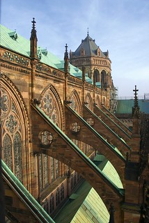 Flying Buttresses of Strasbourg Cathedral | by allanimal