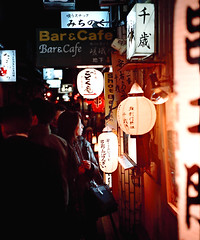 lane in the Shinsekei area of Osaka 大坂 by Scott Cog