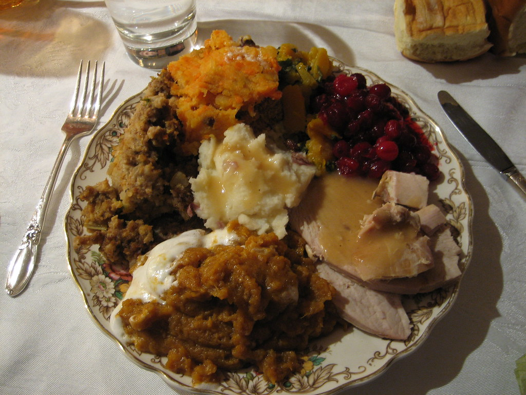 a perfect thanksgiving plate chris kelly flickr. Black Bedroom Furniture Sets. Home Design Ideas