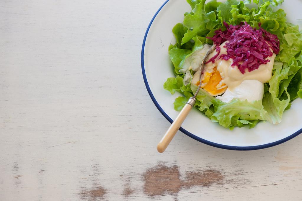 Poached Eggs & Mayo