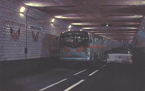 Canada - Detroit -Windsor Tunnel | by 9teen87's Postcards