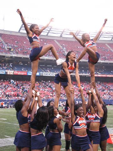 Morgan State University Cheerleaders Kevin Coles Flickr