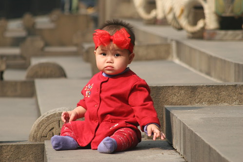 Mary Grace in China | by endbradley