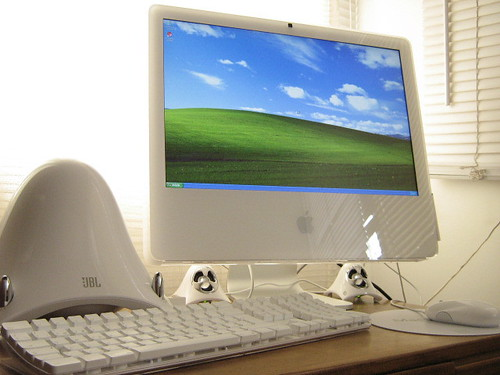 Windows Xp on new iMac 20"
