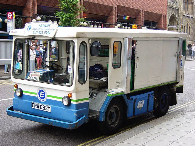The Vanishing Milk Float Months Now Pass Between