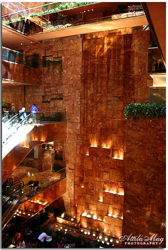 Waterfall Inside Trump Tower Photo Taken 2006 03 18 Flickr