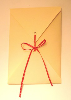 handmade envelope | by 3littlemiracles