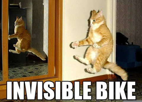 Invisible Bike | by pyramidhead84
