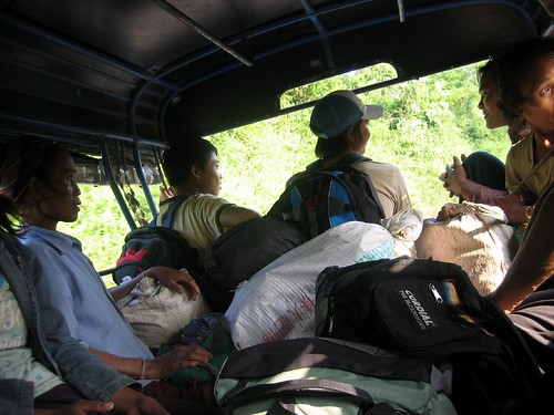 On the tuk tuk from the border - Luang Namtha | by Alexandra Moss