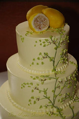 Spring! with handmade marzipan lemons | by Glass Slipper Gourmet
