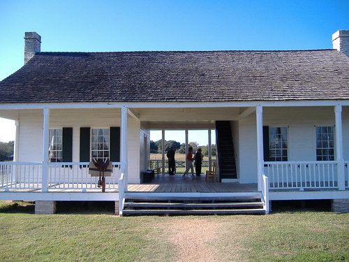 Dog trot style farm house chivrock flickr for Dogtrot modular homes