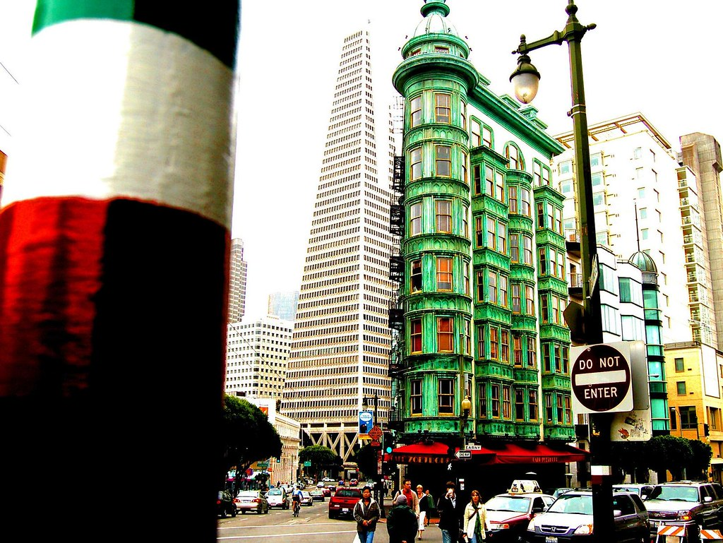 Little Italy by Jackson Square  San Francisco  Columbus To  Flickr