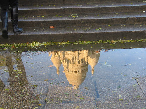 Reflections of Sacré Coeur | by alexandra666