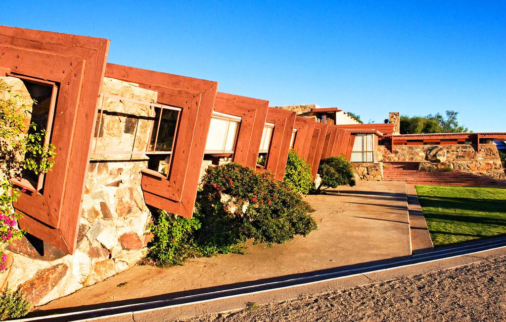 Facade Frank Lloyd Wright S Taliesin West Scottsdale Ar
