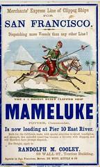 MAMELUKE is now landing at Pier 10 East River