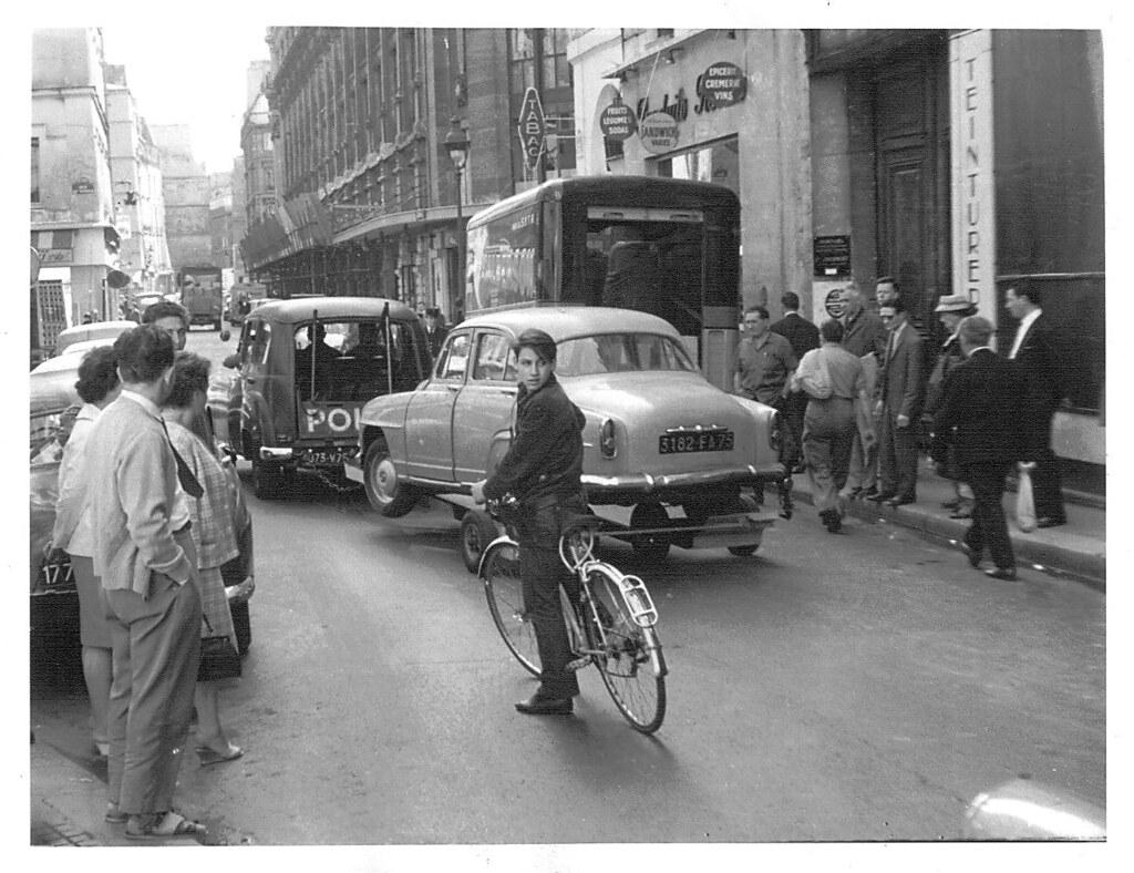 ... Paris 1961 - Street Scene | by Mike Hewson