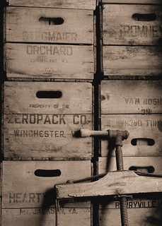 Vintage Crates - Sepia | by zizzybaloobah