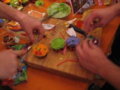 Making Halloween Cupcakes 2006 | by coreymarie♥com