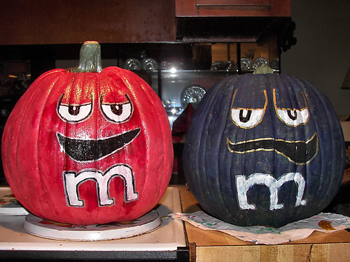 M m pumpkins just a snapshot of my halloween pumpkins for M m halloween decorations