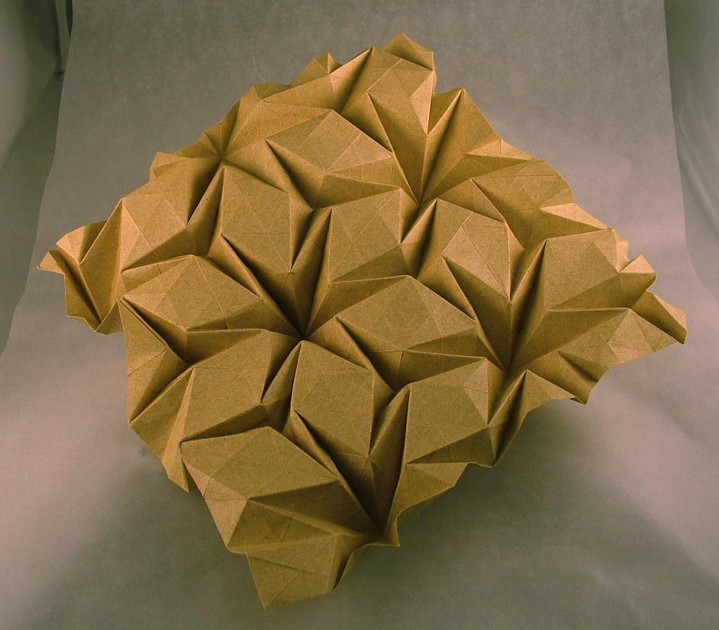 Rhombus Waterbomb    Flagstone Tessellation