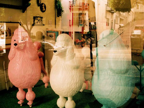 mrs. pink, madam blanca, and mr. blue | by sfgirlbybay