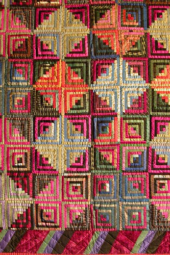 Log Cabin Quilt | by Pixie Dust