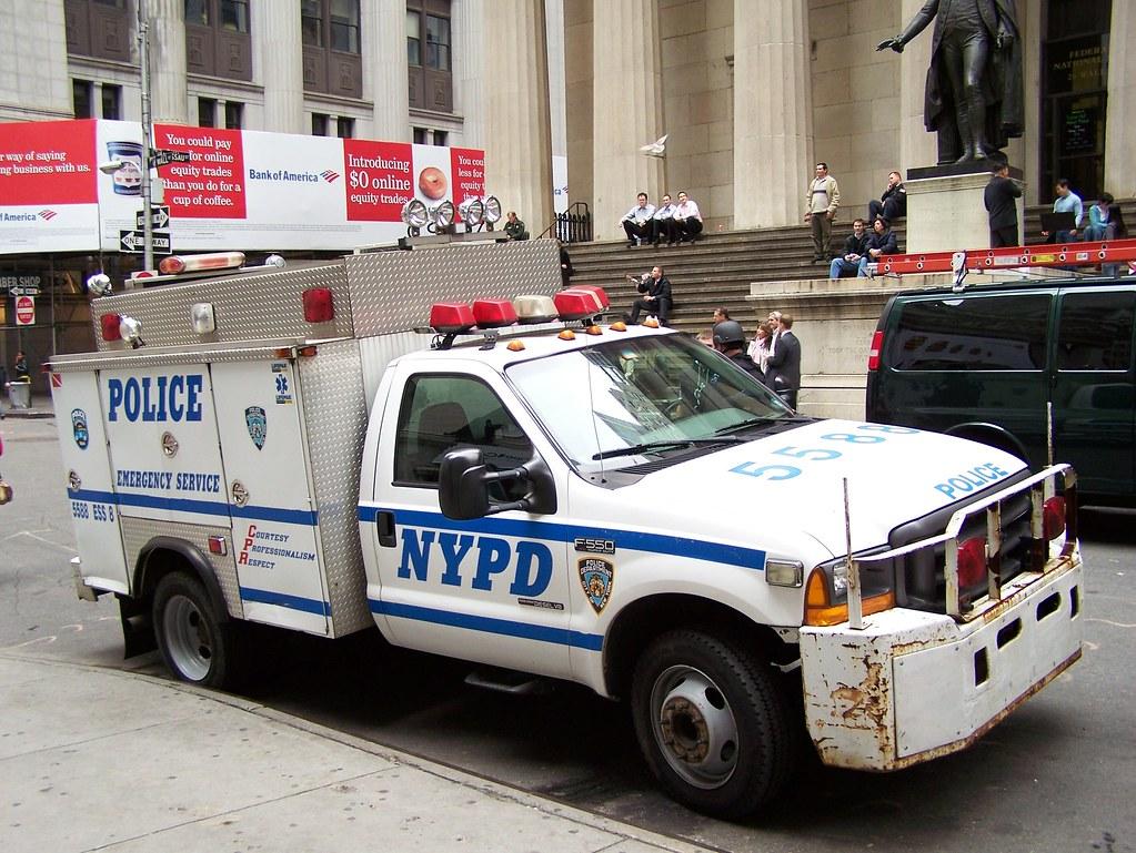 NYPD ESU Truck | Emergency Service | Tom Link | Flickr