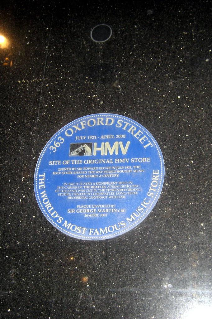 Uk London Oxford Street Site Of Original Hmv Store Flickr