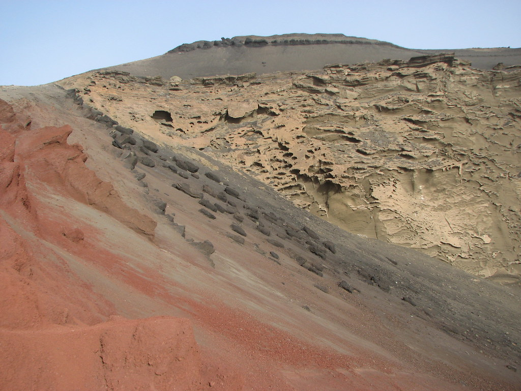 Rocky Slope Lanzarote Has The Most Amazing Volcanic