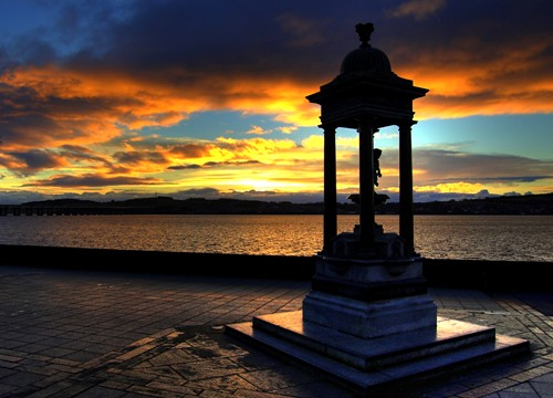 Dundee Morning Glow by the River | by Magdalen Green Photography