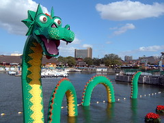 Lego Sea Serpent | by Dr Momentum