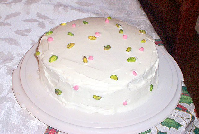 Persian Love Cake Frosted